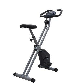 iLIVING Folding Upright Bike with Calorie Counter ('The X-Bike')