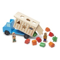 Assembled Toy Trucks
