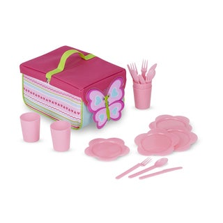 Melissa & Doug Cutie Pie Butterfly Picnic Set
