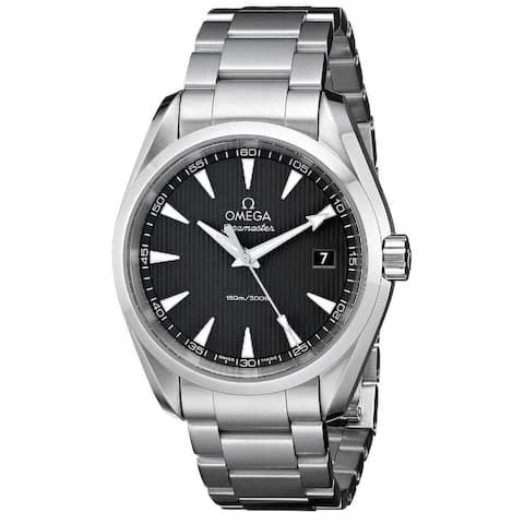 Omega Men's O23110396006001 'Seamaster Aqua Terra' Stainless Steel Watch