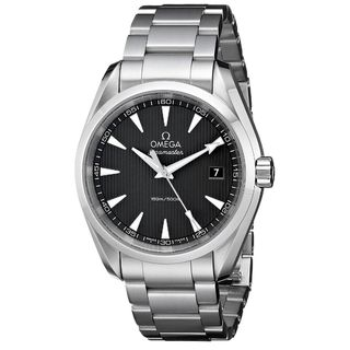 Link to Omega Men's O23110396006001 'Seamaster Aqua Terra' Stainless Steel Watch Similar Items in Men's Watches