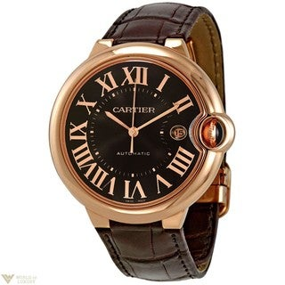Cartier Men's W6920037 Ballon Bleu De Cartier Brown Watch