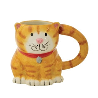 14 Ounce Orange Tabby Cat Mug