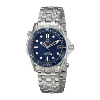 Omega Men's O21230362003001 'Seamaster 300' Automatic Stainless Steel Watch|https://ak1.ostkcdn.com/images/products/11716637/P18637648.jpg?impolicy=medium