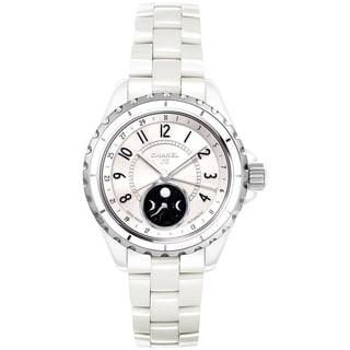 Chanel Women's H3404 J12 White Ceramic Swiss Watch