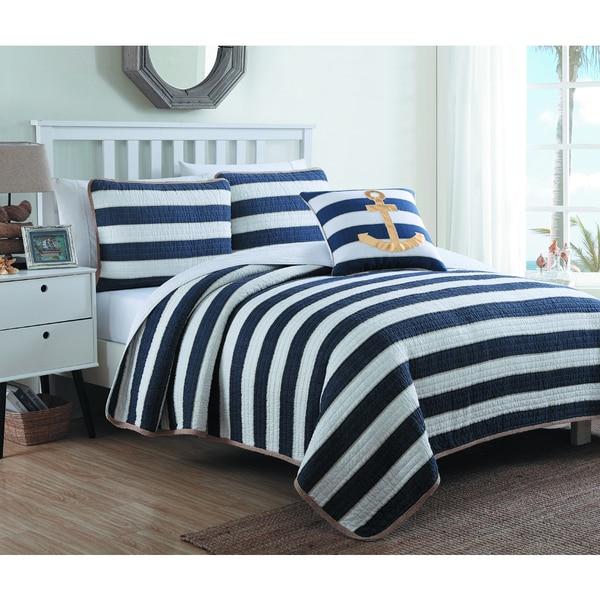 Estate Hampton Cotton Quilt Set