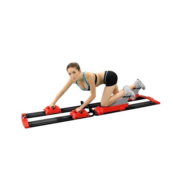 Back2Crawl Home Series Bear Crawl Horizontal Exercise Machine (Red)