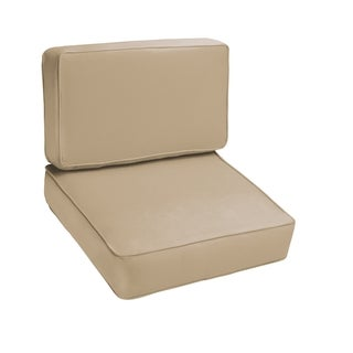 Sloane Beige 2-piece Indoor/Outdoor Cushion Set