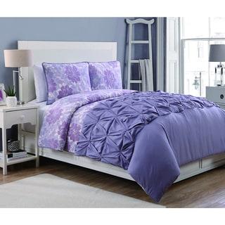 Crest Home Flora 4-piece Comforter and Quilt Set