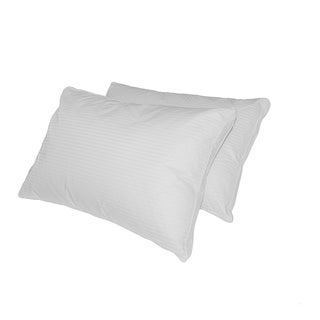 Luxlen Grand 500 Thread Count White Down Pillow (Set of 2)