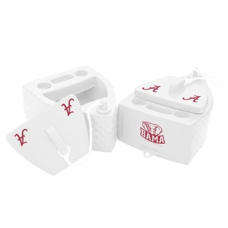 Texas Rec KOOLER FLOATING White Finish ALABAMA Crimson Tide