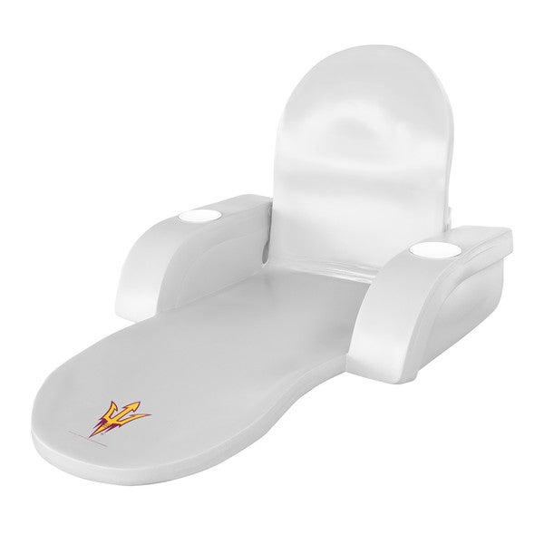 Texas Rec LOUNGE FOLDING TROP White Finish ARIZONA STATE Sun Devil