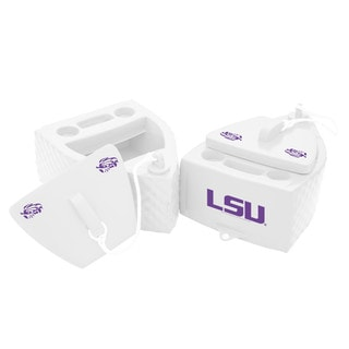 Texas Rec KOOLER FLOATING White Finish LSU Tigers