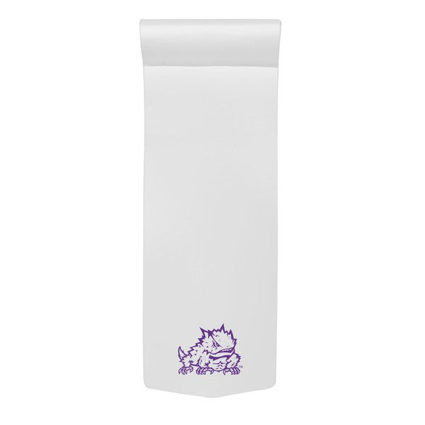 Texas Rec POOL FLOAT SPLASH PL White Finish TCU Horned Frog