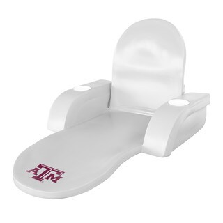 Texas Rec LOUNGE FOLDING TROP White Finish TEXAS A&M