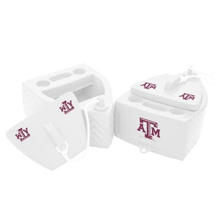 Texas Rec KOOLER FLOATING White Finish TEXAS A&M