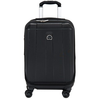 Delsey Helium Shadow 3.0 Black 19-inch Expandable Hardside International Carry On Spinner Suiter Laptop Suitcase