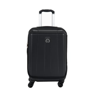 Delsey Helium Shadow 3.0 Black 21-inch Expandable Hardside Carry On Spinner Suiter Suitcase