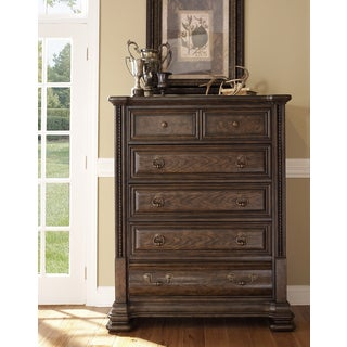 Hazelton Vintage Oak Drawer Chest