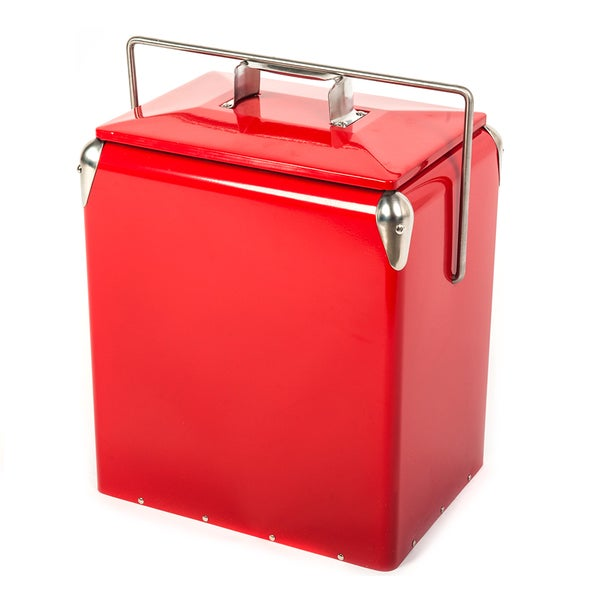 Hio Steel Cooler Lunch Box Picnic Cooler Retro Style