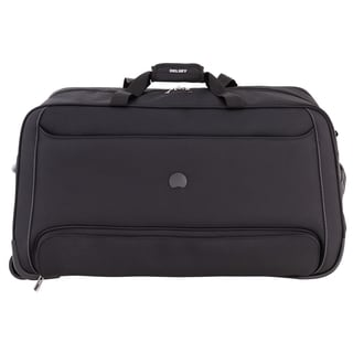 Delsey Chatillon Black 28-inch Rolling Duffel Bag