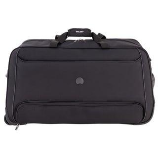 DELSEY Paris Chatillon Black 28-inch Rolling Duffel Bag