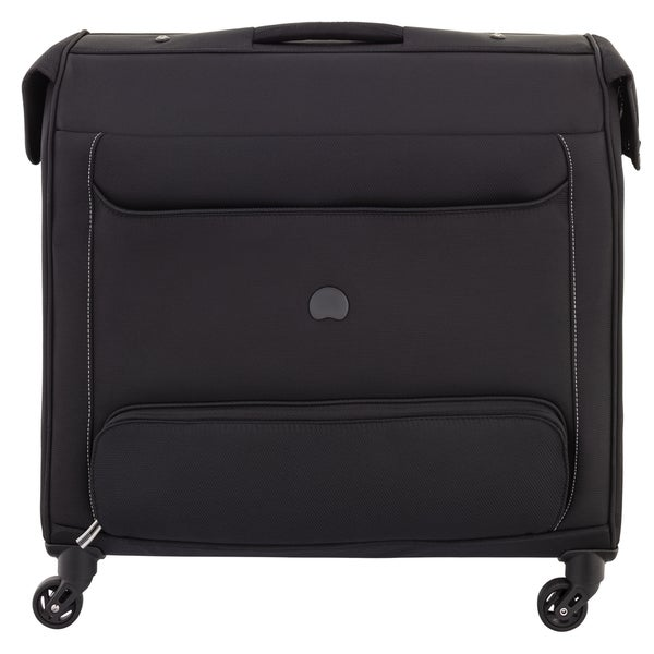 Delsey Chatillon Black Spinner Rolling Garment Bag