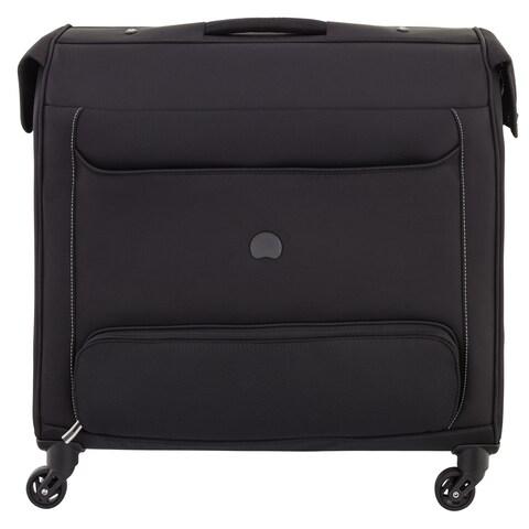 "DELSEY Paris Chatillon Black 24"" Spinner Rolling Garment Bag"