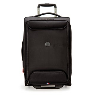 Delsey Chatillon Black 20-inch Carry-on Expandable Rolling Laptop Suitcase