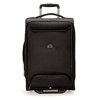 DELSEY Paris Chatillon Black 20-inch Carry-on Expandable Rolling Laptop Suitcase