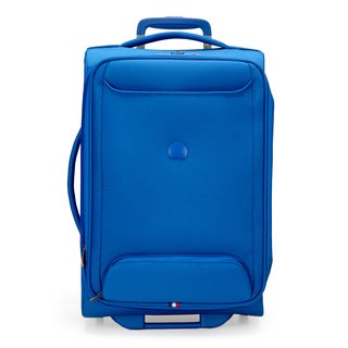 Delsey Chatillon Blue 20-inch Carry-on Expandable Rolling Laptop Suitcase