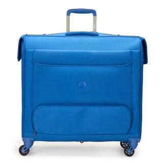 "DELSEY Paris Chatillon Blue 24"" Spinner Rolling Garment Bag"