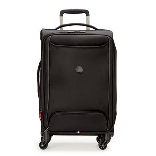 Delsey Chatillon Black 20-inch Expandable Carry-on Spinner Upright Suitcase