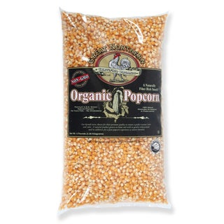 Great Northern Popcorn Organic Yellow Gourmet Popcorn All Natural, 5 Pounds