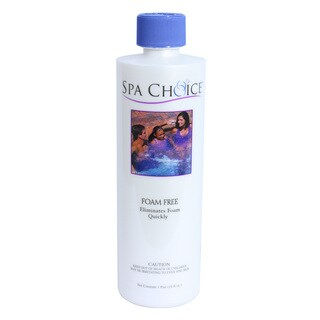Spa Choice Foam Free for Spas and Hot Tubs, 1 Pint