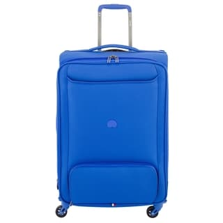 Delsey Chatillon Blue 25-inch Expandable Spinner Upright Suitcase