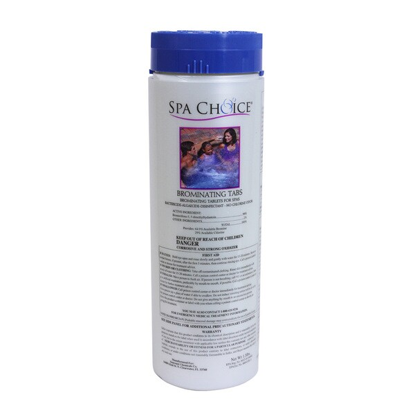 Spa Choice Brominating Tabs for Spas and Hot Tubs, 1.5 Pounds
