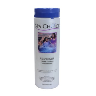 Spa Choice Re-Energize (Non-Chlorine) for Spas and Hot Tubs, 2 Pounds