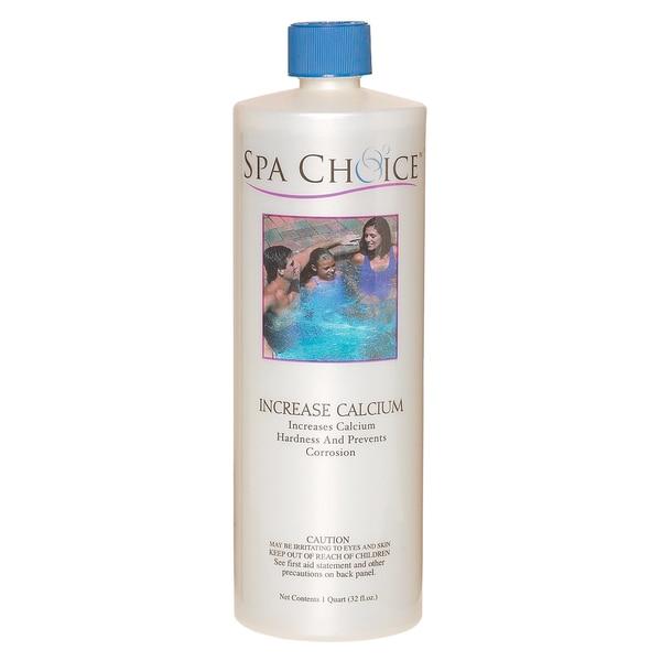 Spa Choice Increase Calcium for Spas and Hot Tubs, 1 Quart