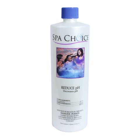 Spa Choice Reduce PH for Spas and Hot Tubs, 1 Quart