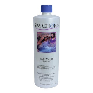 Spa Choice Increase PH for Spas and Hot Tubs, 1 Quart, 4-Pack