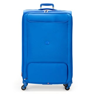 Delsey Chatillon Blue 29-inch Expandable Spinner Upright Suitcase