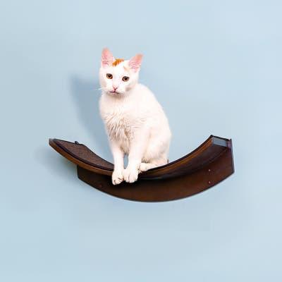 Lotus Leaf Cat Shelf from The Refined Feline