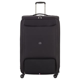 Delsey Chatillon Black 29-inch Expandable Spinner Upright Suitcase