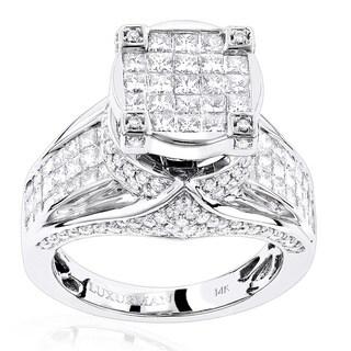 Luxurman 14k Gold 3ct TDW Unique Pave Diamond Engagement Ring https://ak1.ostkcdn.com/images/products/11717254/P18638218.jpg?_ostk_perf_=percv&impolicy=medium