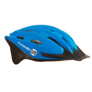 Punisher 18-Vent Adult Cycling Helmet, Blue, Ages 12+