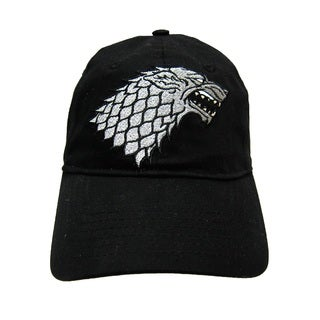Game of Thrones House Stark Black Baseball Hat