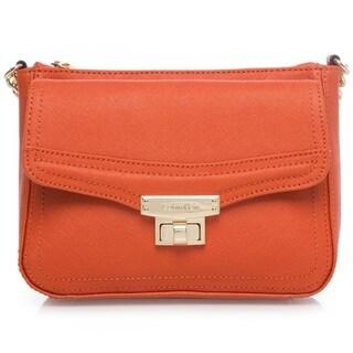 Calvin Klein Key Item Burnt Orange Saffiano Crossbody Handbag|https://ak1.ostkcdn.com/images/products/11717471/P18638292.jpg?_ostk_perf_=percv&impolicy=medium