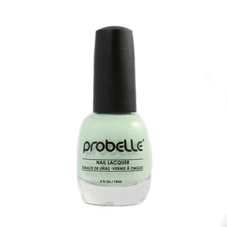 Probelle Fresh Mint Nail Lacquer (Light Green Cream)