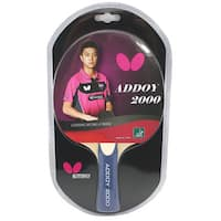 Butterfly Addoy 2000 ITTF Approved Sponge and Addoy Rubber Table Tennis Racket
